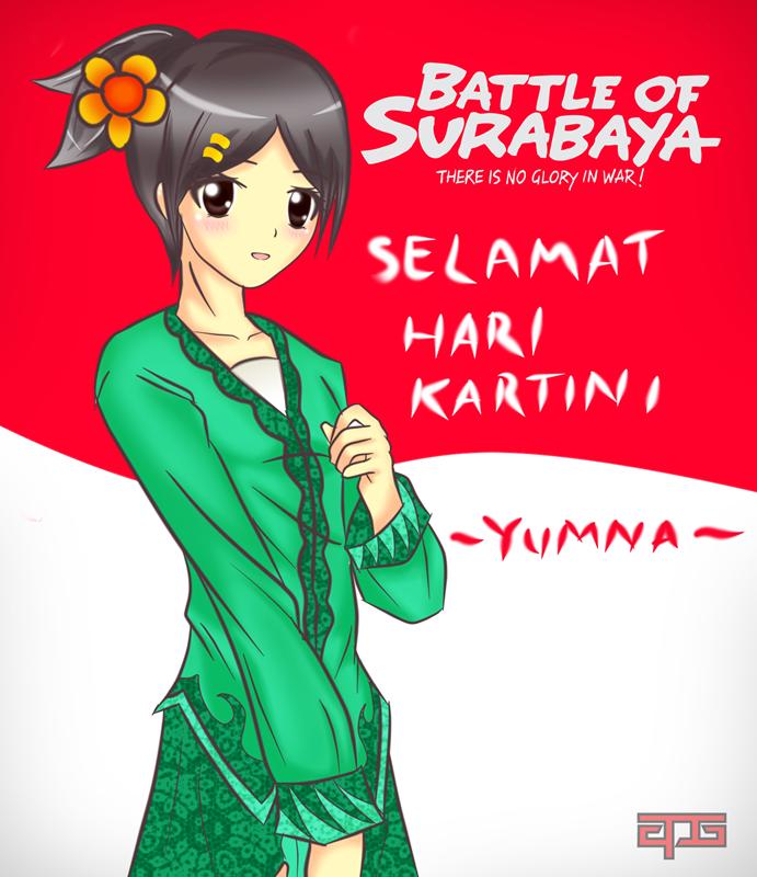 Yumna for Kartinian by APG Battle of Surabaya Fan Art