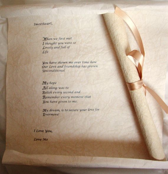 Will You Marry Me Scroll Message On Parchment Paper Creative