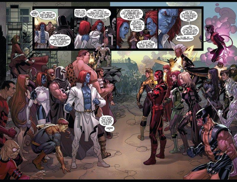 X Men No More Humans La Novela Grafica Arte De Comics Arte De La Cubierta Y Novelas Graficas