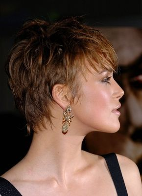 Superior Keira Knightley With A Pixie Cut