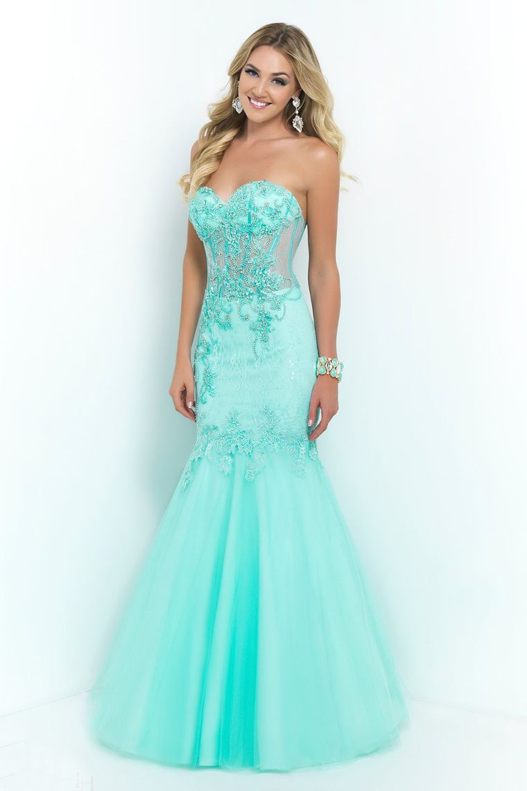 sweetheart mermaid prom dresses lace bodice pick up tulle skirt