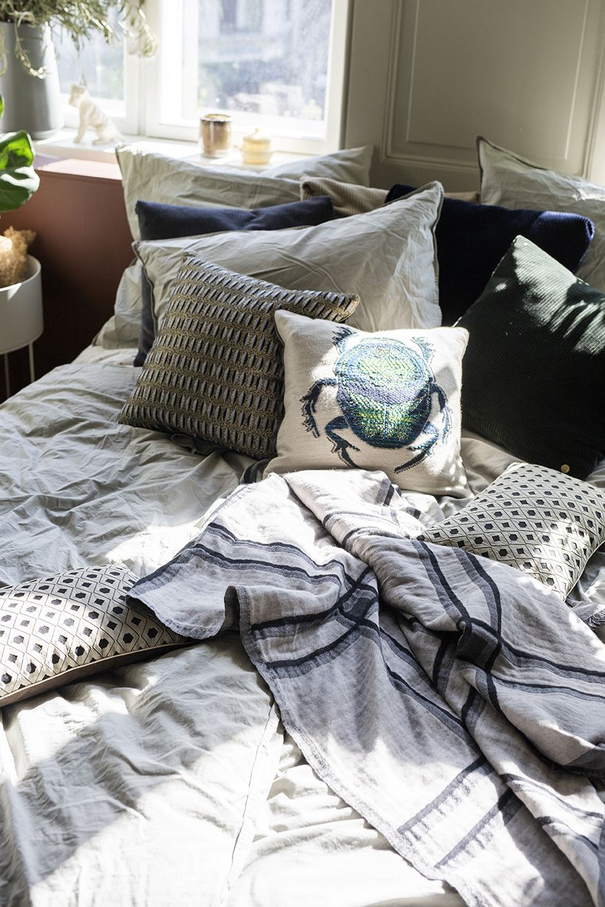 Retire to the calm of your bedroom after a long day find comfort in
