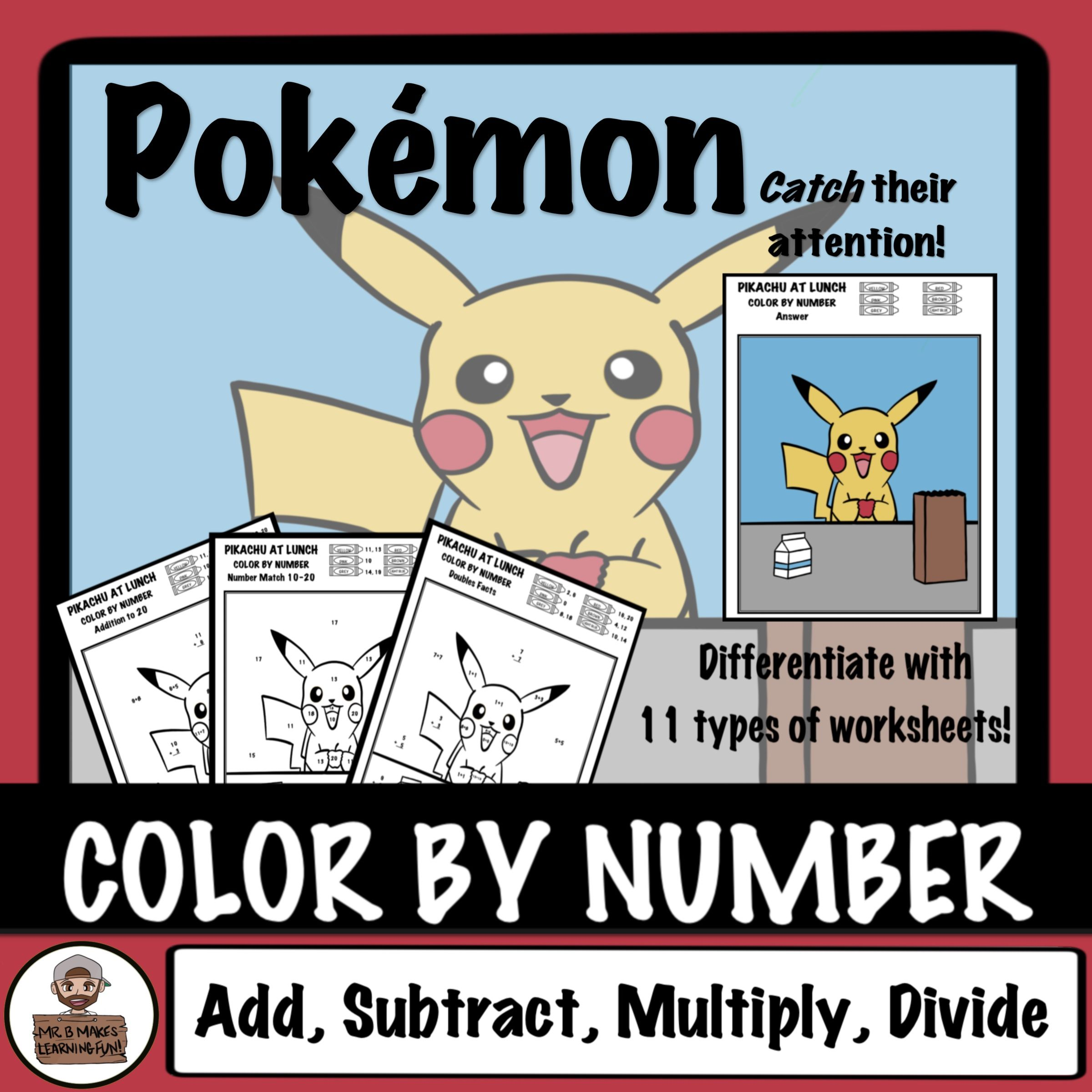 Get Your Students Back Into The Swing Of Things With This Back To School Themed Color By Number This Math Activities Elementary Math Activities Math Centers [ 2400 x 2400 Pixel ]
