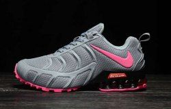 best website 37568 a3f05 Nike Air Shox KPU 2019 Wolf Grey Pink Shox R4 Women s Athletic Running Shoes