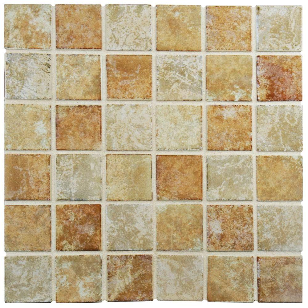 Merola Tile Colorado Quad Adobe 12 12 In X 12 12 In X 5 Mm