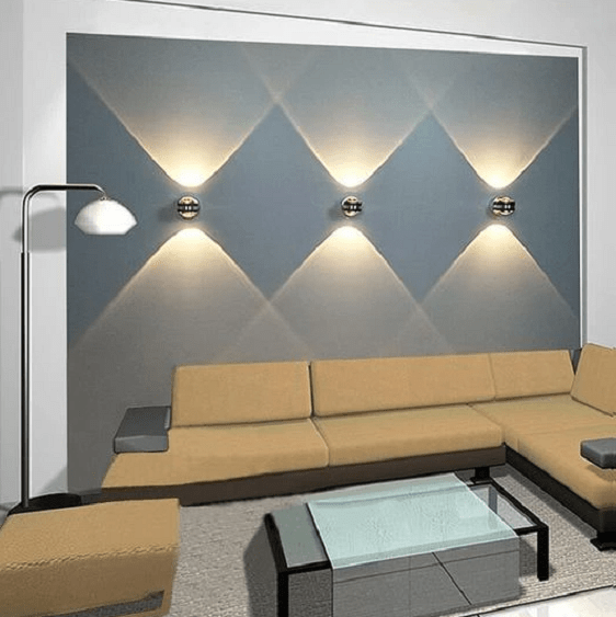 Modern Projection Wall Lights Wall Lights Living Room Wall Lamps Living Room Living Room Lighting