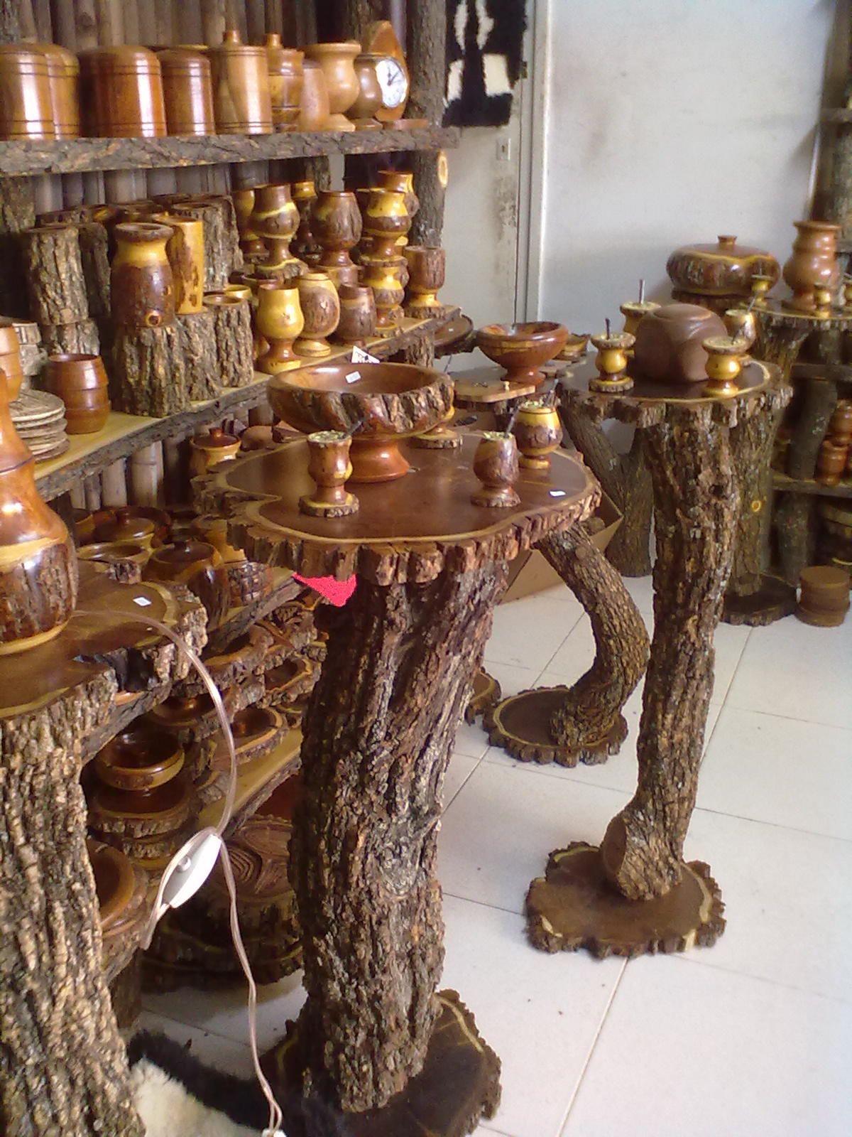 Artesanias rusticas de argentina fabrica de mates y for Muebles artesania