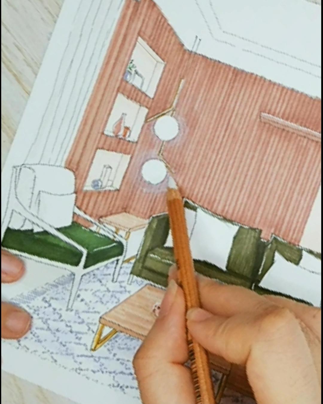Sketch interior
