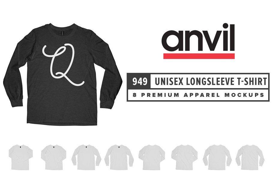 Download Anvil 988 Lightweight Ringer T Shirt In 2020 Clothing Mockup Unisex T Shirt