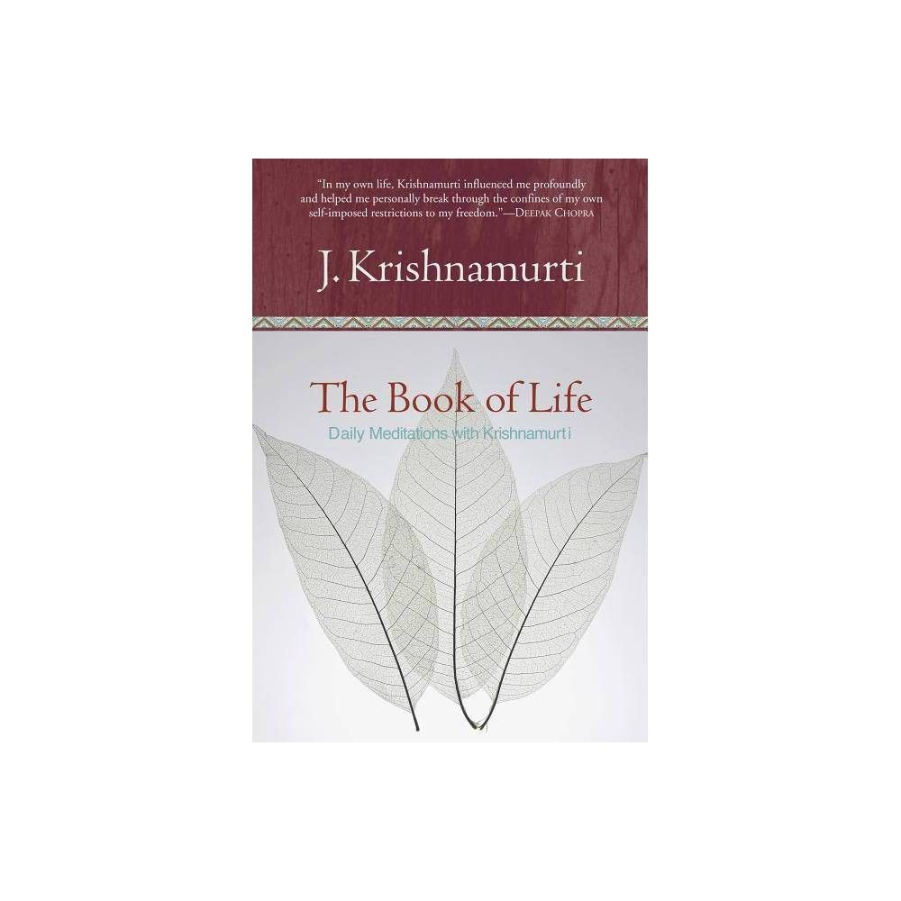 The Book Of Life By Jiddu Krishnamurti Hardcover Book Of Life Jiddu Krishnamurti Hardcover