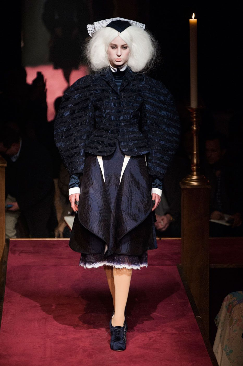 Thom Browne Built a Church, and the Fashion Crowd Came ToWorship recommend