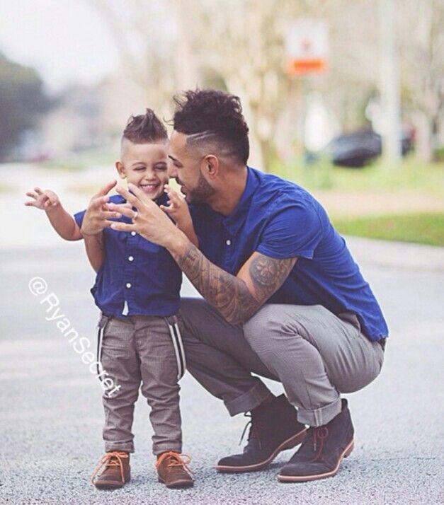 adorable father son fashion