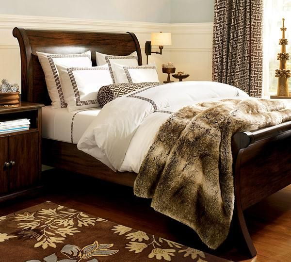Modern Furniture Modern Bed Designs Beautiful Bedrooms: Beautiful Sleigh Beds Design Ideas