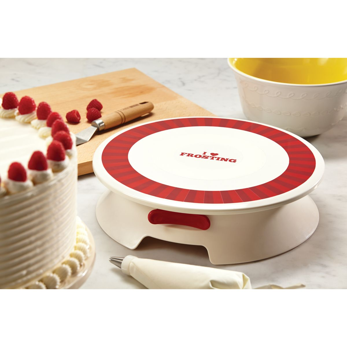 turntable cake stand kmart