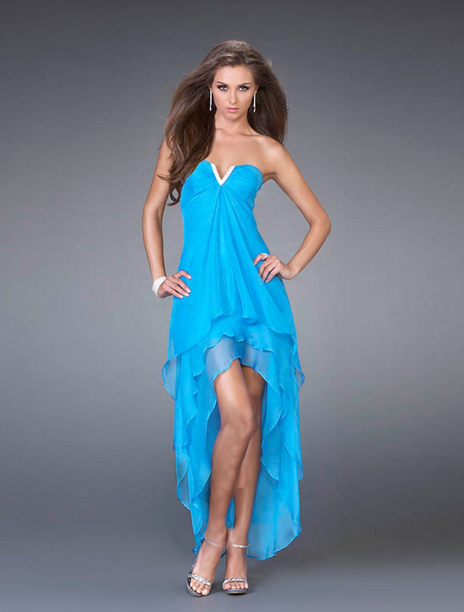 high low prom dress   Gorgeous dress   Pinterest   Stunning prom ...