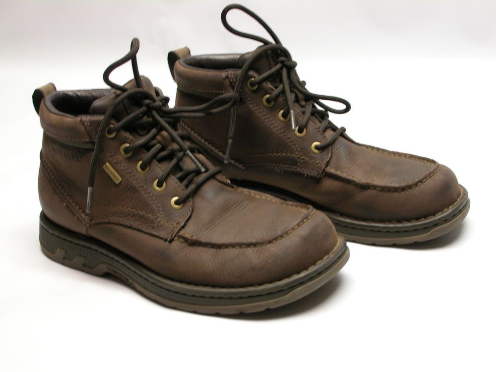 c7124e4f97 Merrell Brown Expresso Waterproof Leather Mens Lace Up Ankle Boots ...