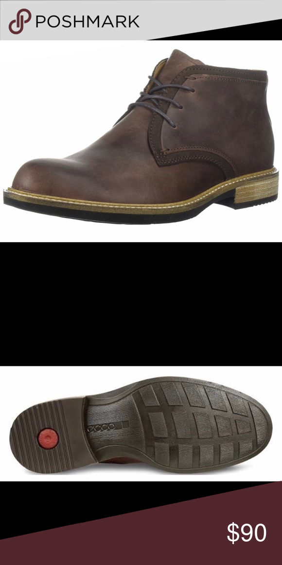 kids Children Genuine Leather Brown Two Strap Baby ECCO Shoes UK Size  Boy