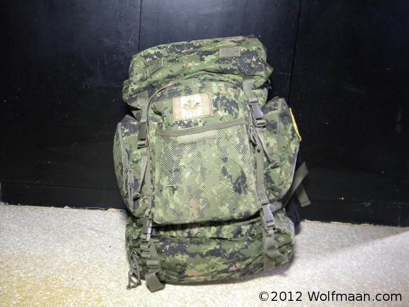 Cadpat Military Issue Backpack This Pack Included An