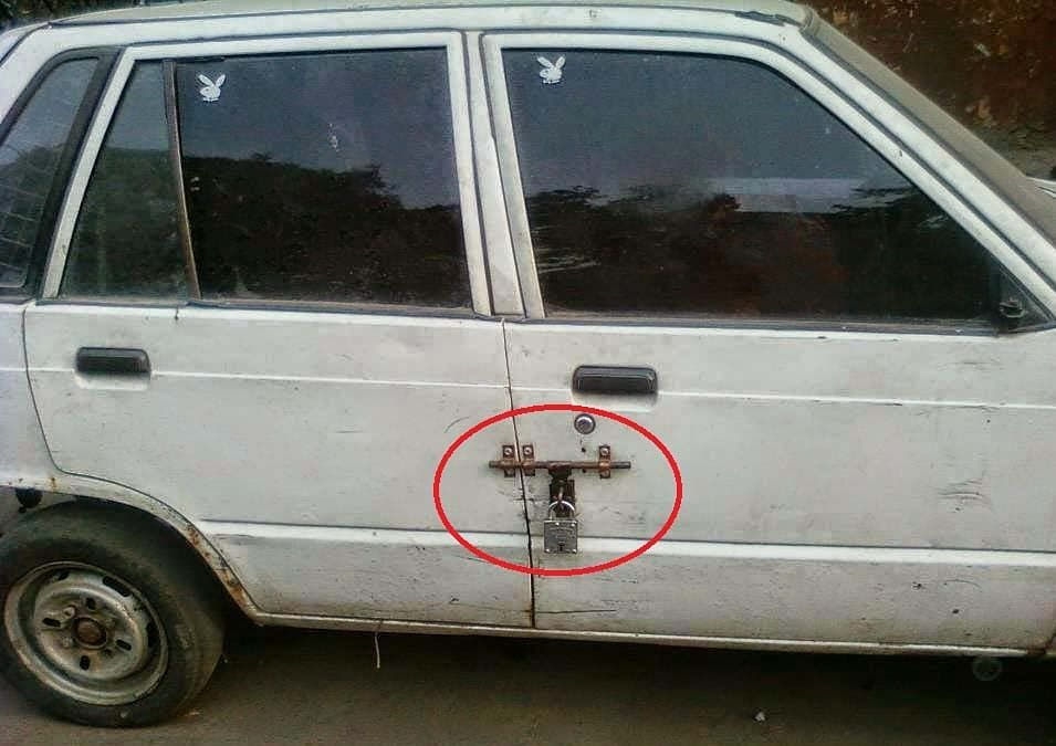 Don't Take Risk For Your Mehran!! #autodeals #suzuki #mehran #smallcar #securityrisk #carlocks