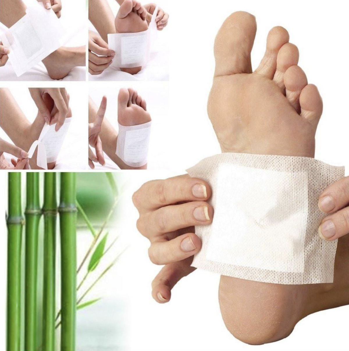 Foot Detox Pads | Foot detox pads, Detox pad, Foot detox patches
