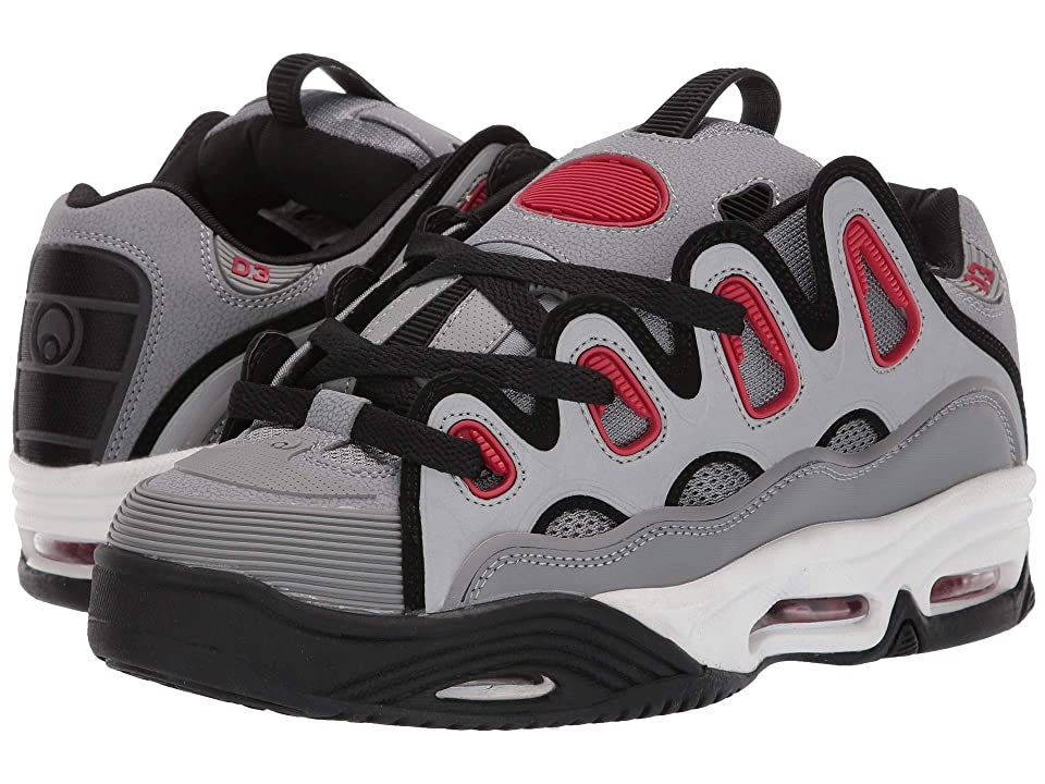 Osiris Skateboard Shoes D3 2001 Black//Red//Black