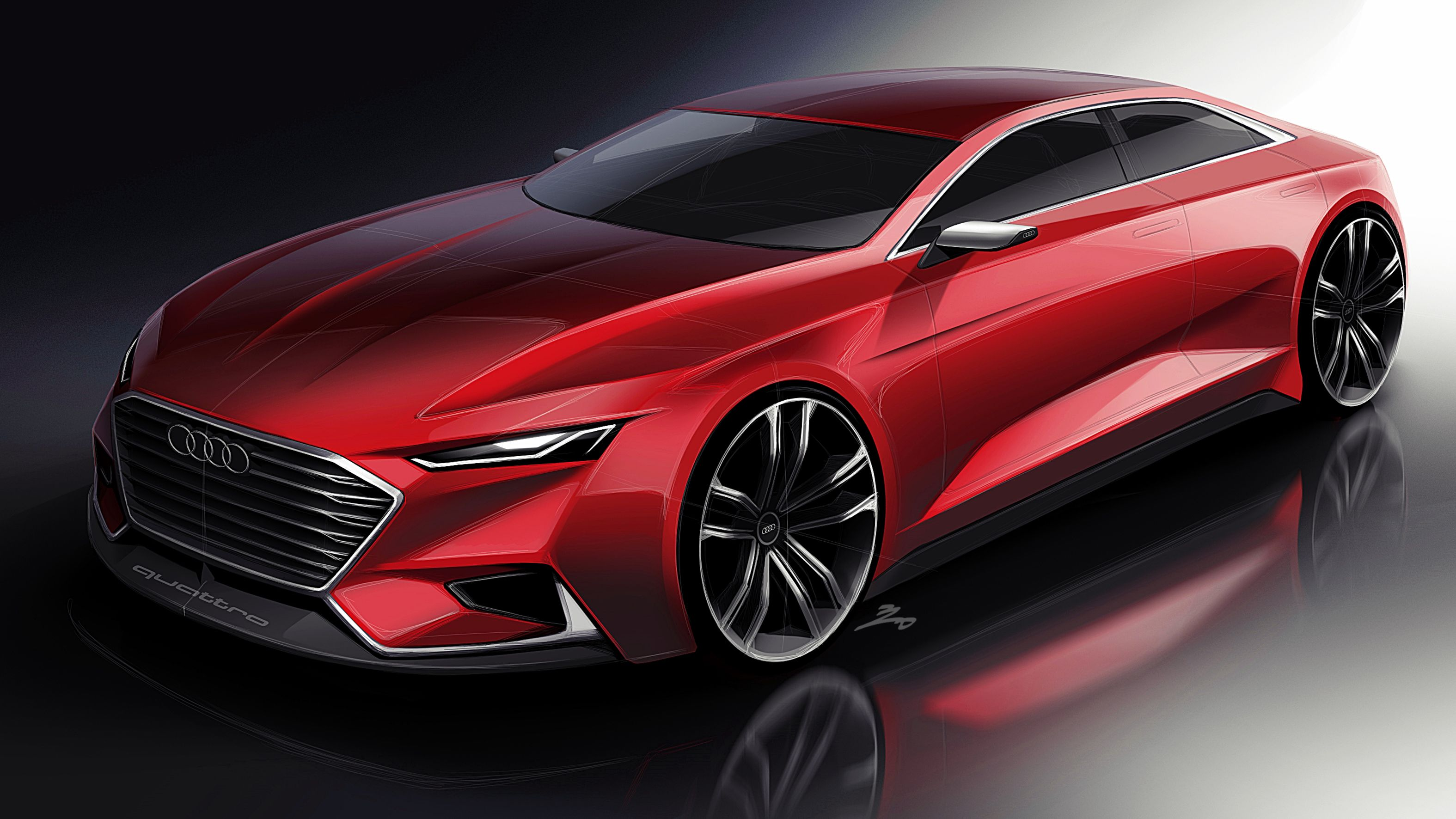 German sport Car design sketch, Car design, Concept car