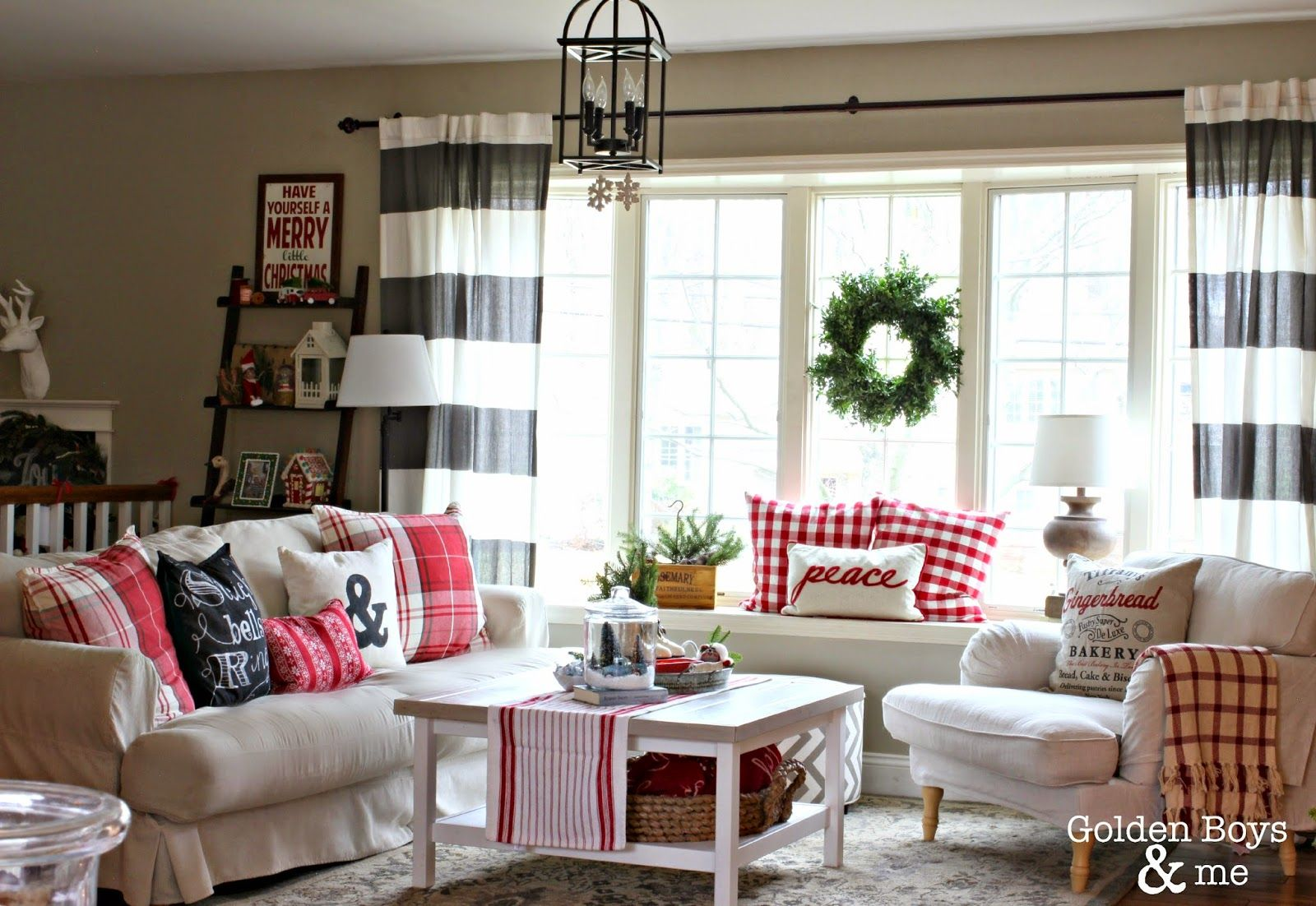Holiday Home Tour 2014 Ideas For The House Christmas