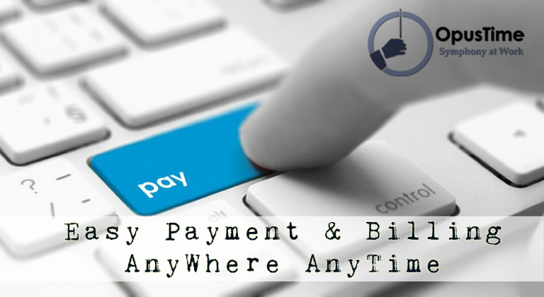 Smart  Simplified Payments Use Opustime For Invoice