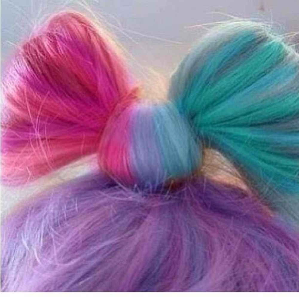 Chalk It Up Hair Color Chalk Hair Bow Hair Styles Hair Hair Color