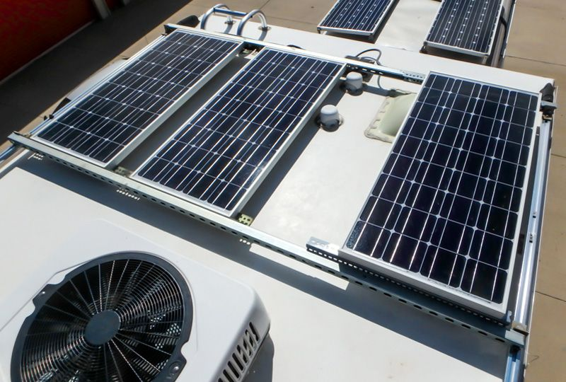 Steps To Install A Solar Panel Roof Rack System On A Truck