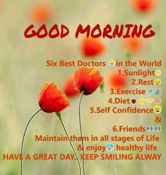 Good Morning Everyonehave A Happy And Healthy Day Pp Morning