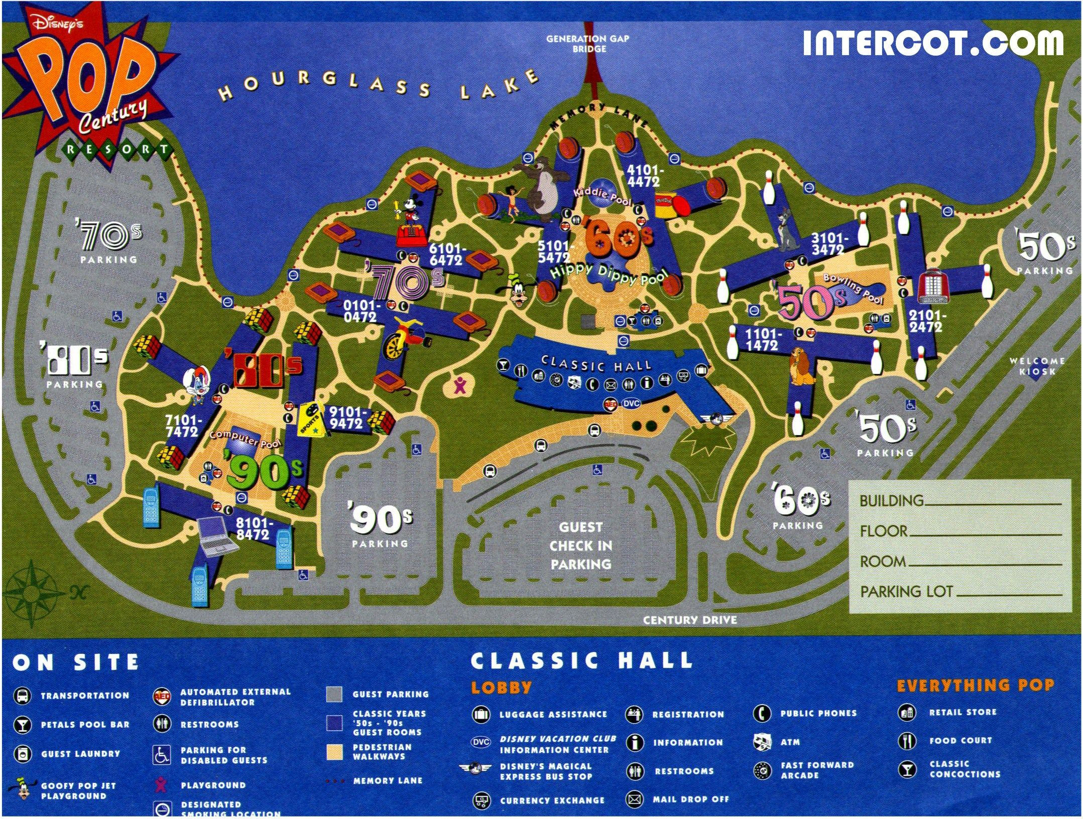 Disney Pop Century Review Is It Actually A Good Value Disney Pop Century Resort Map Disney Value Resorts Disneys Pop Century Resort