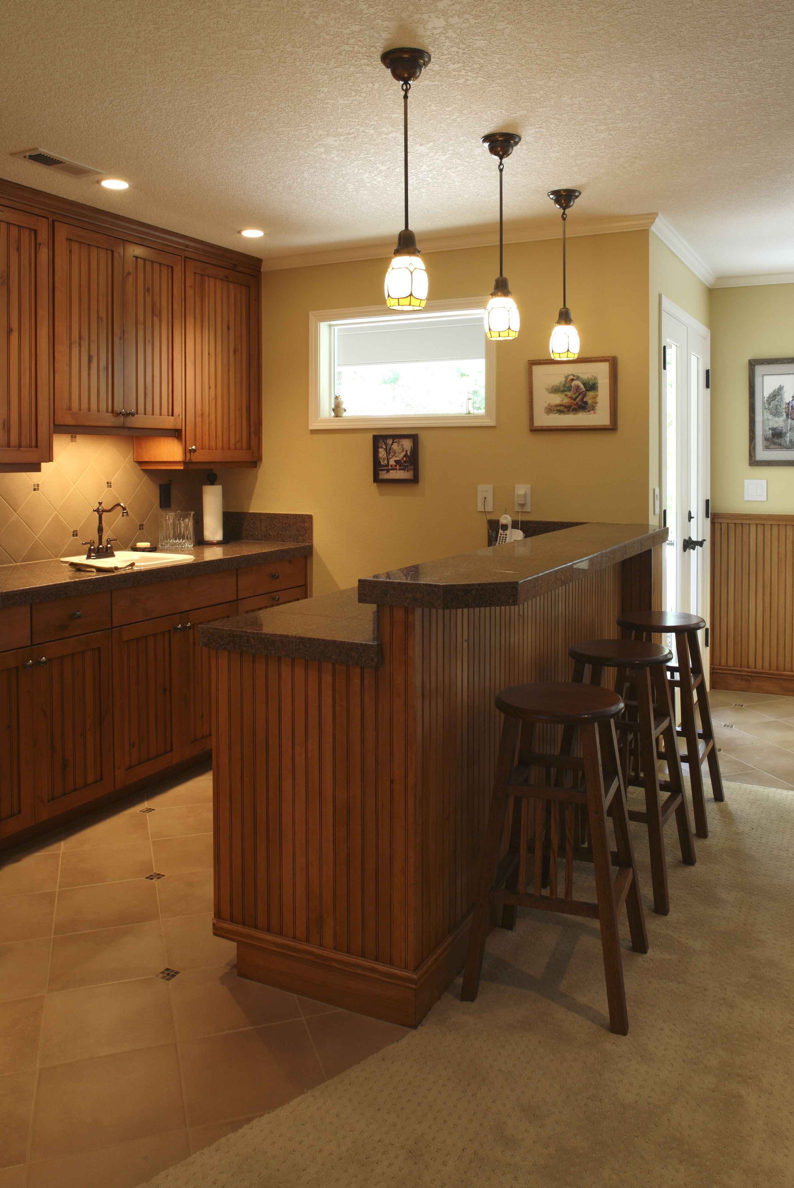 Remodeled Basement Classy Design Ideas