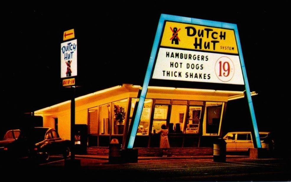 Dutch Hut System In West Long Branch Nj Early 60 S Photo