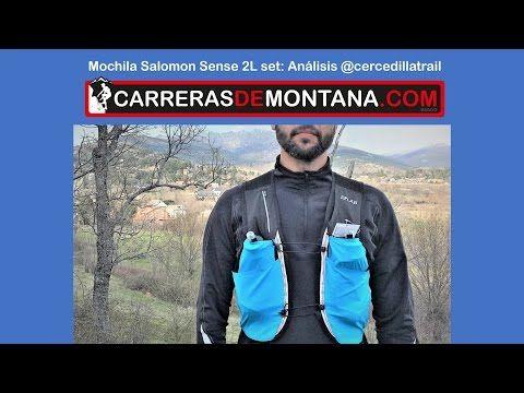 Salomon sense 2L set: Mochila trail running. Análisis @cercedillatrail - YouTube