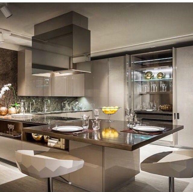 Küche, Moderne Küche
