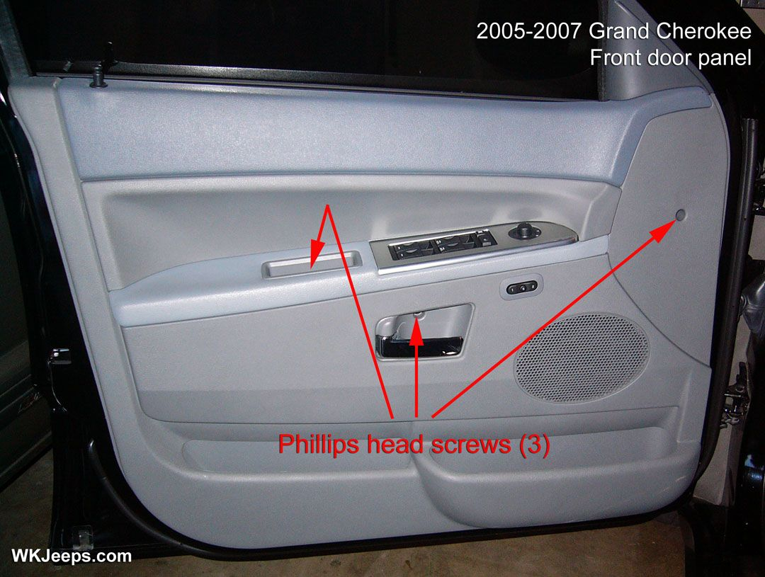 Jeep Grand Cherokee Wk Interior Trim Removal Jeep Grand