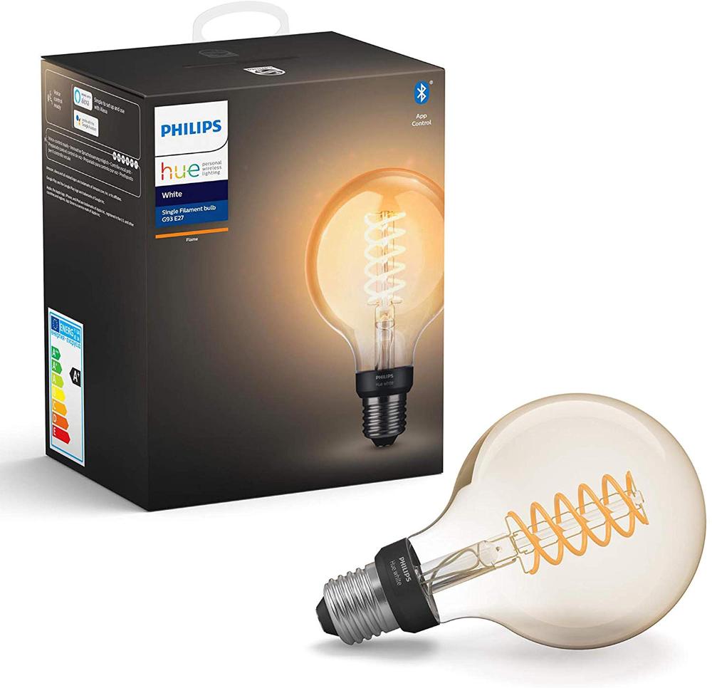 Philips Hue Ampoule Led Connectée Blanc Filament E27 Forme