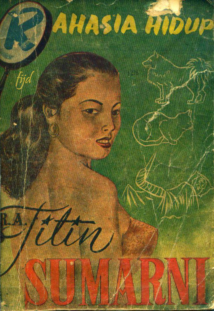 Rahasia Hidup Titin Sumarni. 1955 Artis, Buku, Lukisan