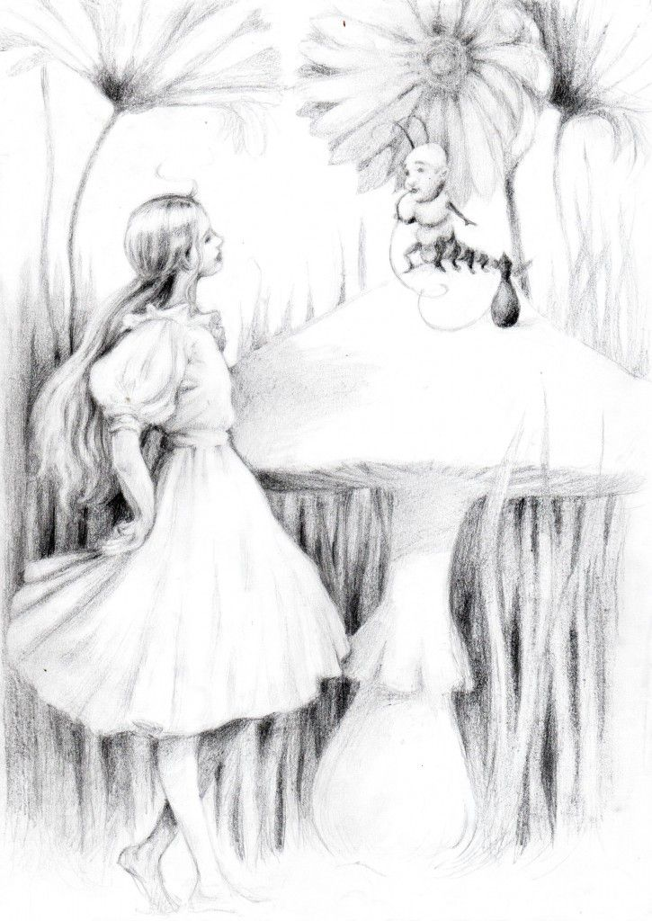 Alice and the Caterpillar by Marie Petty.