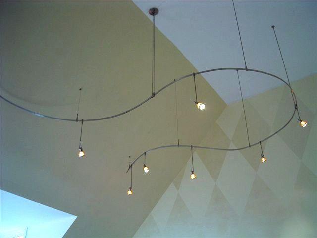Pendant Track Lighting School Library Makeover Ideas
