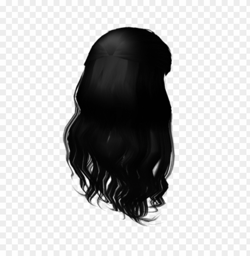 Free Roblox Hair Black Png Image With Transparent Background Png Free Png Images In 2020 Black Hair Roblox Roblox Black Hair