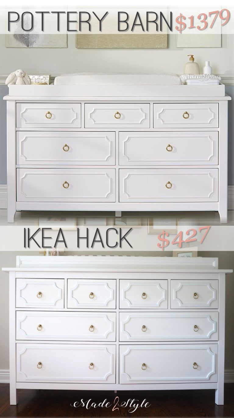 Ikea Hack Pottery Barn Furniture Knockoff Spring Road