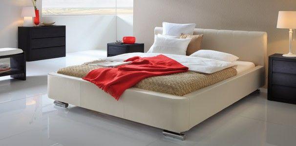 wasserbett mit hasena dream line polsterbett zibi wasserbetten mit leder bettrahmen pinterest. Black Bedroom Furniture Sets. Home Design Ideas
