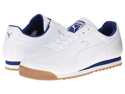 PUMA Roma Basic White Limoges - Zappos.com   kicks   Pinterest ... e2608bbd5d