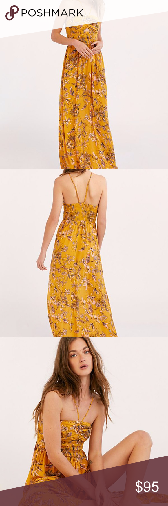 64888e173436 NWOT FREE PEOPLE ONE STEP AHEAD MAXI DRESS Details Style No. 50054428 ;  Color Code