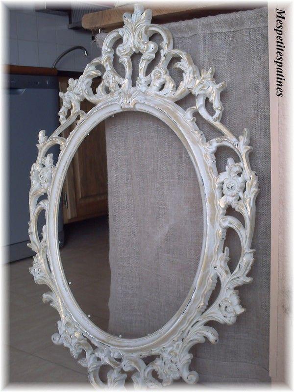 Un Miroir Baroque Mes Petites Patines Miroir Baroque Ikea Miroir Baroque Miroir