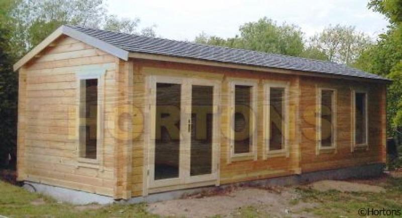 Product image watford log cabin garden rooms for Garden room 5x3