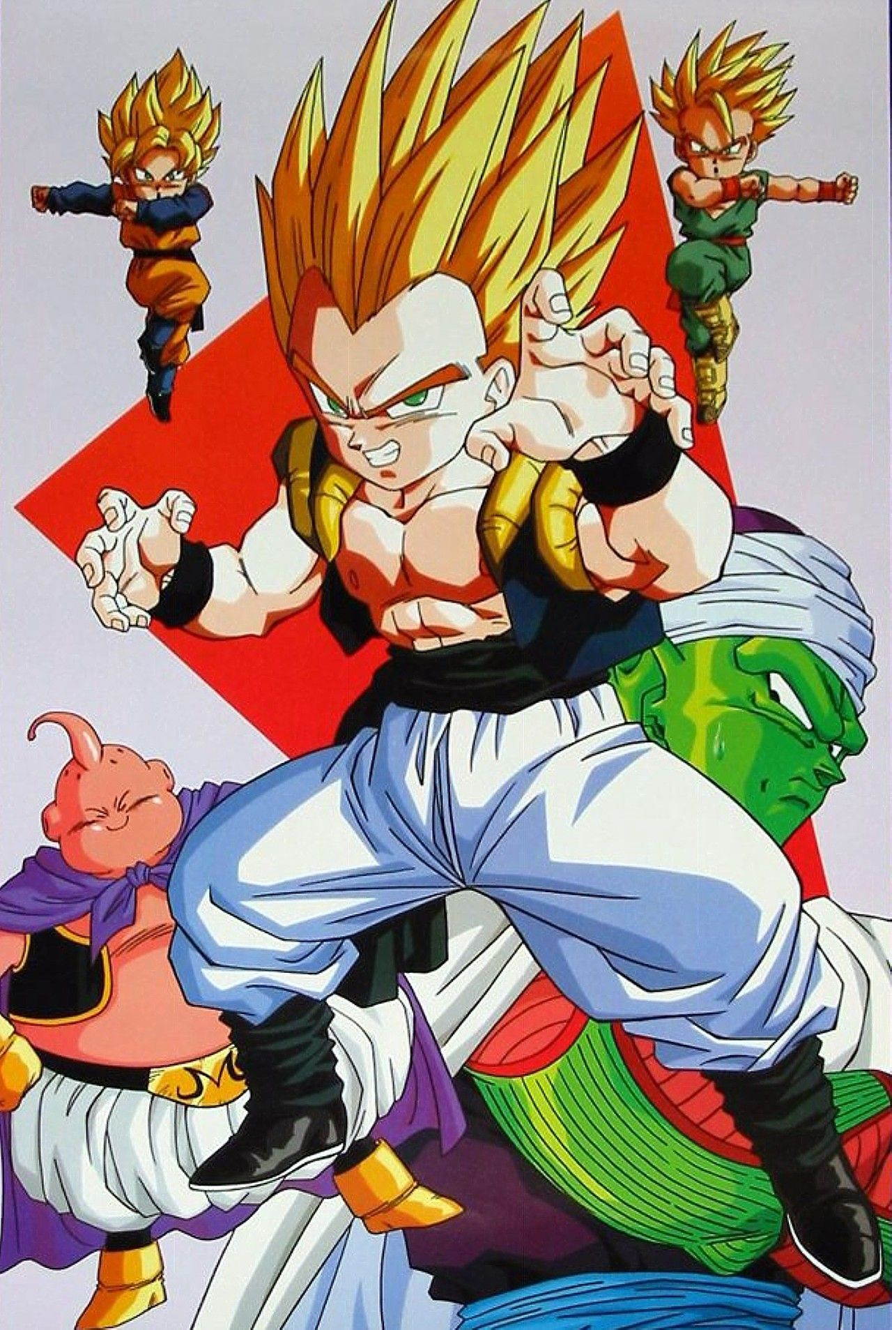 Tactics Evolved Majin Buu Gotenks You Really Don T Know When To Give Up Do You Dragonball Z Dragon Ball Gt Anime