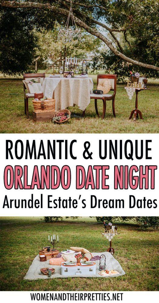 Arundel Estate's Dream Dates is a Romantic, Unique Dining Experience in Central Florida #dreamdates